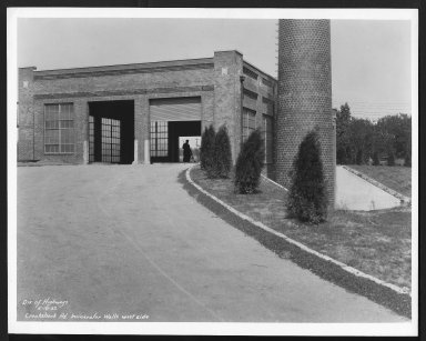 Miscellaneous Photographs -- Box 53, Folder 16 (Crook Shank Road Incinerator) -- print, 1932-05-18