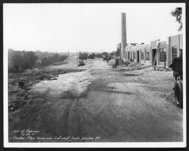 Miscellaneous Photographs -- Box 53, Folder 17 (Dunbar Incinerator) -- print, 1931-09-22