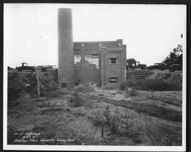 Miscellaneous Photographs -- Box 53, Folder 18 (Dunbar Incinerator) -- print, 1931-09-22