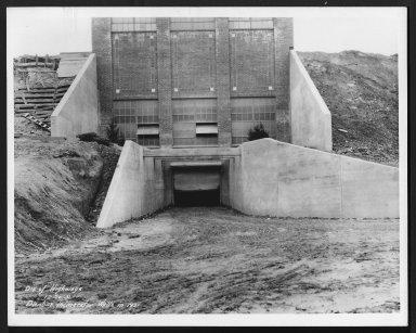 Miscellaneous Photographs -- Box 53, Folder 18 (Dunbar Incinerator) -- print, 1931-12-20