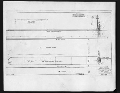 Miscellaneous Photographs -- Box 53, Folder 23 (Loading Platforms Diagrams) -- print, 1929-04-01