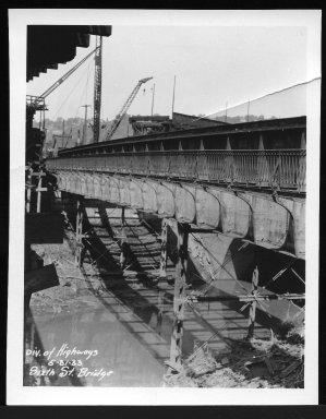 Miscellaneous Photographs -- Box 53, Folder 29 (Misc. Street improvements (small)) -- print, 1933-05-31