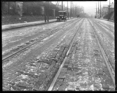 Miscellaneous Photographs -- Box 54, Folder 06 (Cincinnati Traction Company) -- negative, 1925
