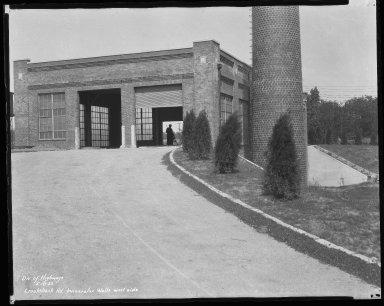 Miscellaneous Photographs -- Box 54, Folder 12 (Crookshank Road Incinerator) -- negative, 1932-05-18
