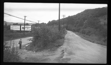 Miscellaneous Photographs -- Box 54, Folder 19 (Hillside Avenue & Old Rapid Run Near Lower River Road) -- negative, 1940-08-30