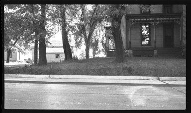 Miscellaneous Photographs -- Box 54, Folder 20 (Kellogg Avenue At Turkey Bottom Road) -- negative, 1940-08-21