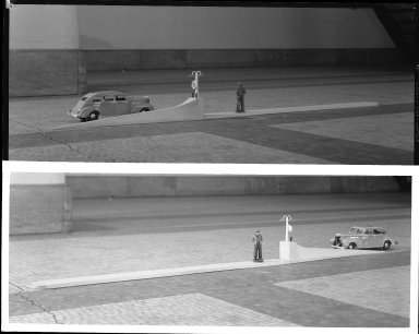 Miscellaneous Photographs -- Box 54, Folder 25 (Loading Platform Models) -- negative, 1940