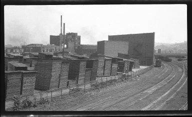 "Miscellaneous Photographs -- Box 54, Folder 30 (Mill Creek Flood Protection Plan ""F"") -- negative, 1940"