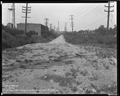 Miscellaneous Photographs -- Box 54, Folder 31 (Old Canal Road) -- negative, 1932-09-02