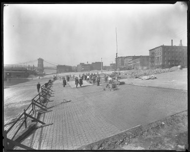 Miscellaneous Photographs -- Box 54, Folder 34 (Public Landing Improvement) -- negative, 1925