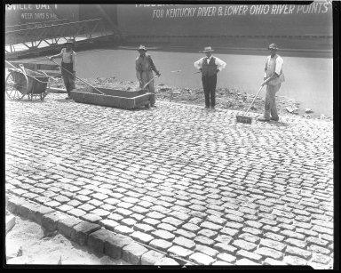 Miscellaneous Photographs -- Box 54, Folder 34 (Public Landing Improvement) -- negative, 1925