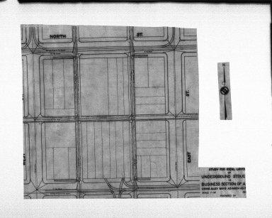 Miscellaneous Photographs -- Box 54, Folder 40 (Underground Structure Diagrams) -- negative, 1934-12-01