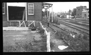 Miscellaneous Photographs -- Box 54, Folder 56 (Miscellaneous Street Improvements) -- negative, 1940-08-12