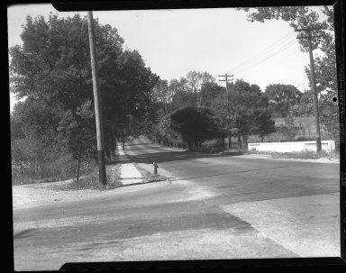 Miscellaneous Photographs -- Box 54, Folder 58 (Miscellaneous Street Improvements) -- negative, 1939