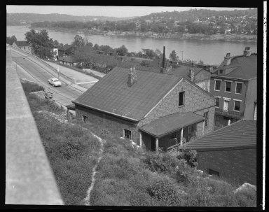 Miscellaneous Photographs -- Box 54, Folder 58 (Miscellaneous Street Improvements) -- negative, 1955