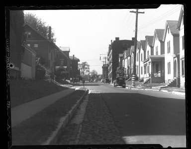 Miscellaneous Photographs -- Box 54, Folder 58 (Miscellaneous Street Improvements) -- negative, 1938