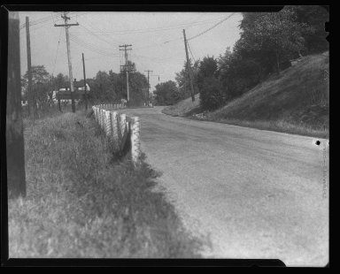 Miscellaneous Photographs -- Box 54, Folder 58 (Miscellaneous Street Improvements) -- negative, 1939
