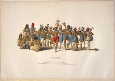 [War Dance, History of the Indian Tribes of North America]