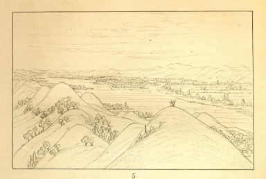 [Beautiful prairie bluffs above the Poncas, 1050 miles above St. Louis, Letters and Notes on the Manners, Customs, and Condition of the North American Indians.]