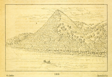 "[""Pike's Tent,"" the highest bluff on the Mississippi, Letters and Notes on the Manners, Customs, and Condition of the North American Indians.]"