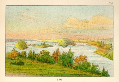 [The Manners, Customs, and Condition of the North American Indians., Falls of St. Anthony, 900 miles above St. Louis]