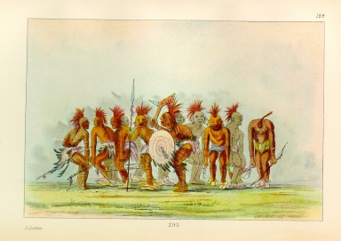 [The Manners, Customs, and Condition of the North American Indians., Begging Dance, Sauk and Fox]