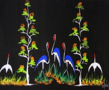 Blue Flamingo's