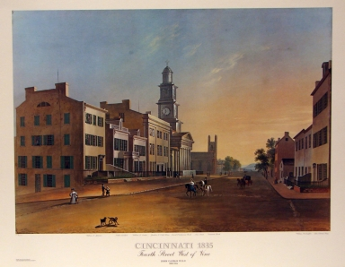 4th Street-West of Vine, 1835