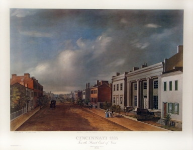 4th Street-East of Vine, 1835