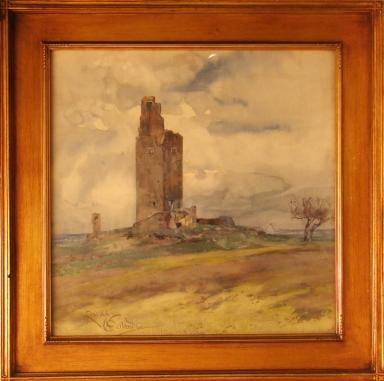 Torre Zanpa di Bone on the For