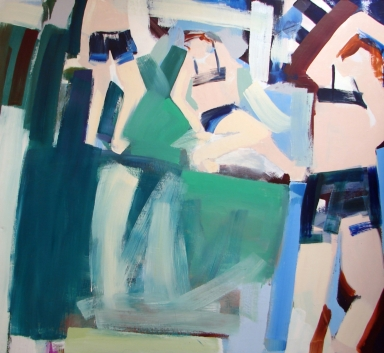 Abstract-Bathers #11
