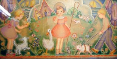 Bo-Peep, Mary and Her Lamb