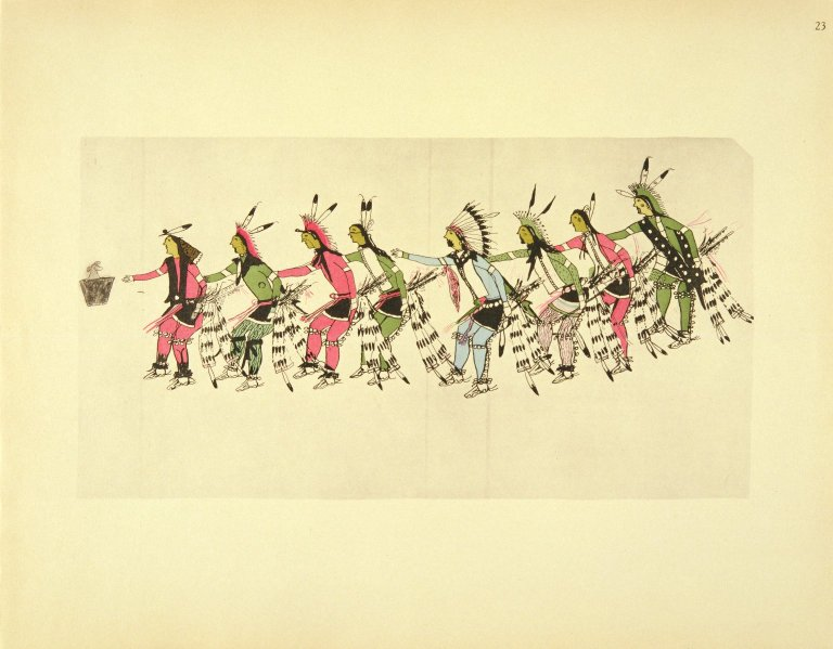 [Sioux Indian painting, Grass Dance]