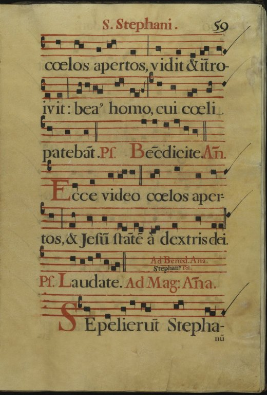 The Spanish Antiphoner. Page 59