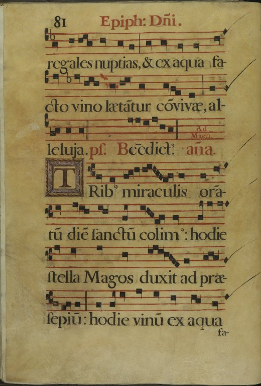 The Spanish Antiphoner. [Page 82]