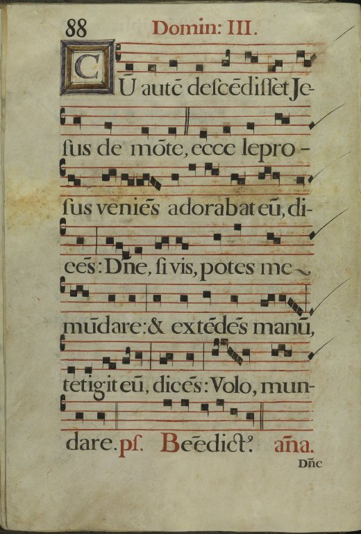 The Spanish Antiphoner. Page 88