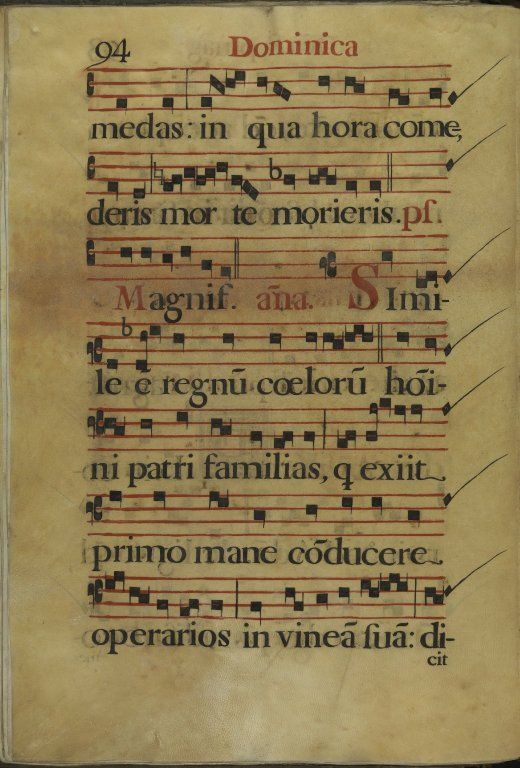 The Spanish Antiphoner. Page 94