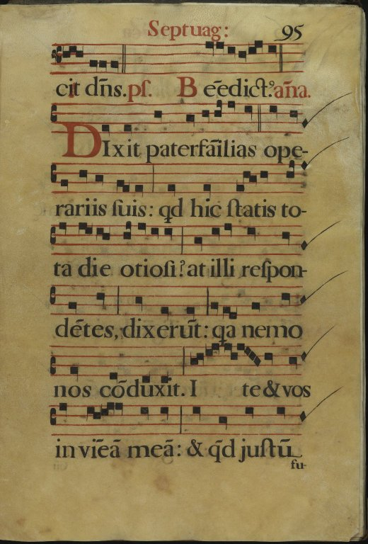 The Spanish Antiphoner. Page 95