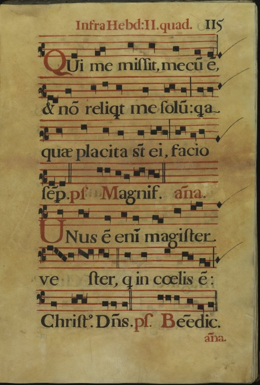 The Spanish Antiphoner. Page 115