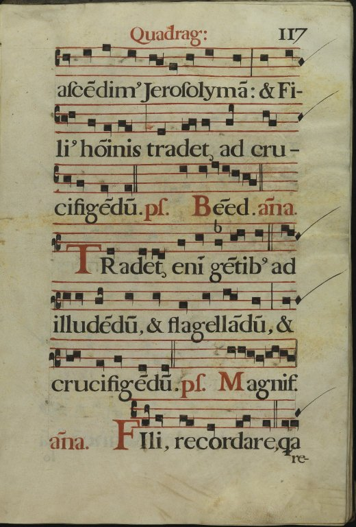 The Spanish Antiphoner. Page 117