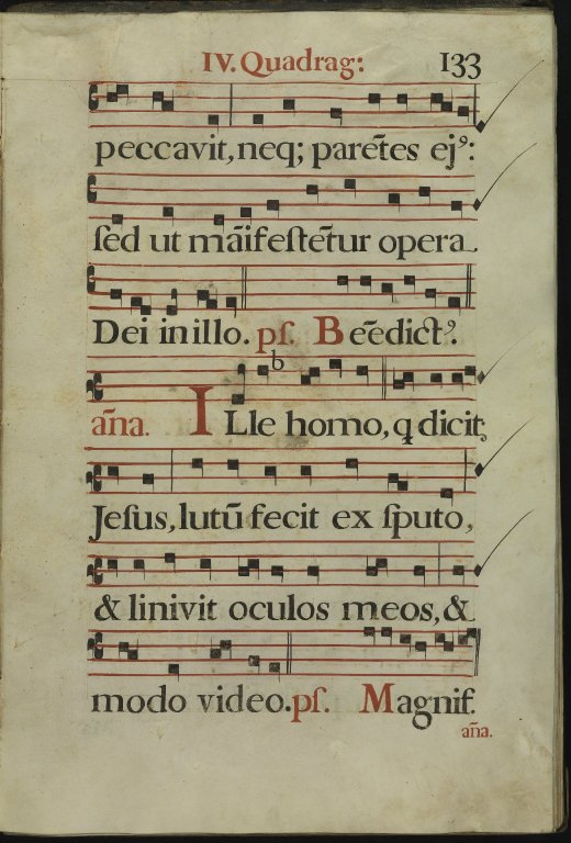 The Spanish Antiphoner. Page 133