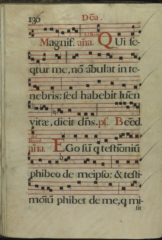 The Spanish Antiphoner. Page 136