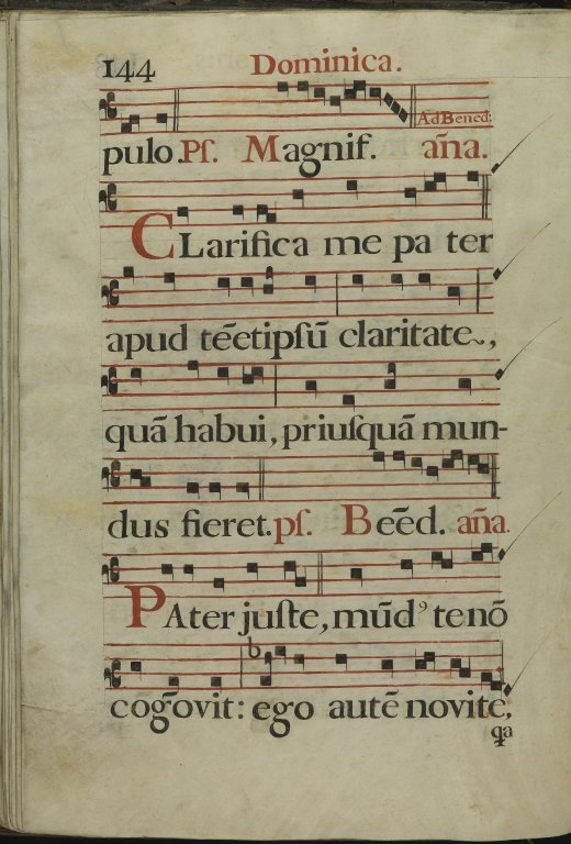 The Spanish Antiphoner. Page 144