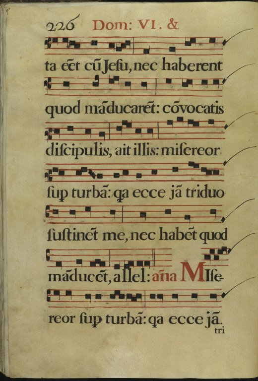 The Spanish Antiphoner. Page 226