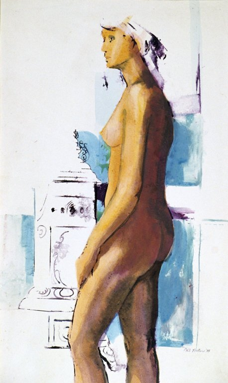 Portrait of Nude with Vanity Table