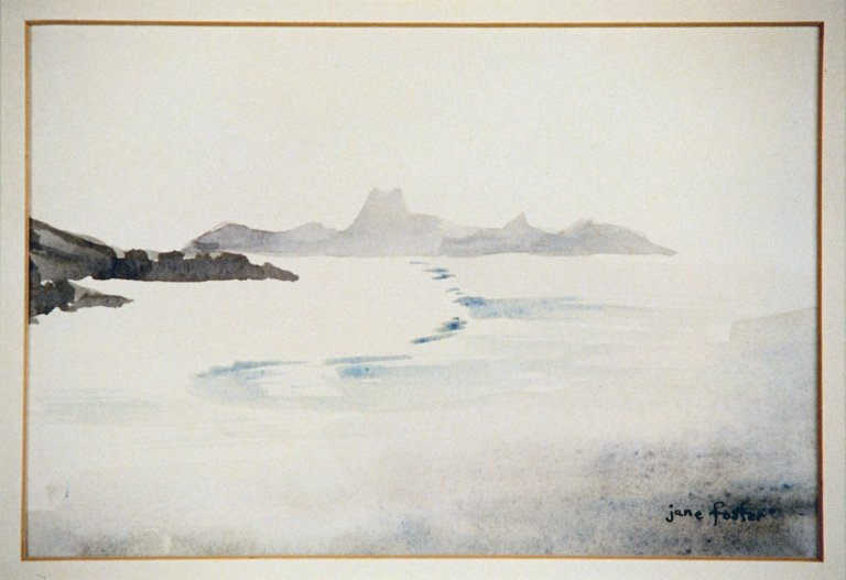 Seascape with Rock Forms