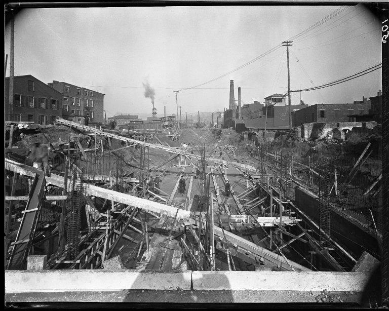 Rapid Transit Photographs -- Box 14, Folder 40 (February 14, 1921) -- negative, 1921-02-14, 10:43 A.M.
