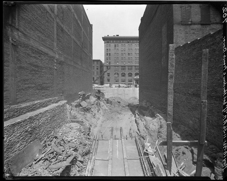 Rapid Transit Photographs -- Box 15, Folder 25 (May 18, 1921 - May 24, 1921) -- negative, 1921-05-18, 11:56 A.M.