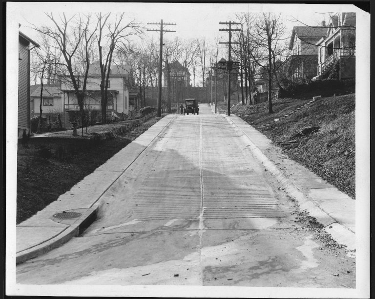 Street Improvement Photographs -- Box 21, Folder 35 (Bouton Street) -- print, 1928