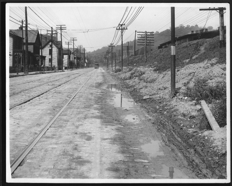 Street Improvement Photographs -- Box 22, Folder 46 (Eastern Avenue) -- print, 1916-09-05